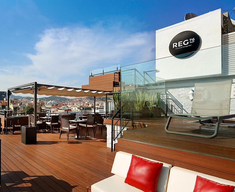 Señalética Terraza Hotel Regente